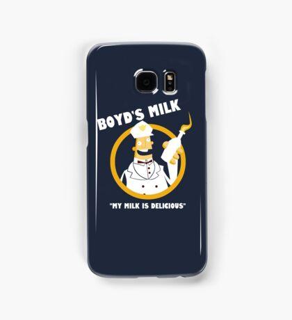 Boyd's Milk Samsung Galaxy Case/Skin