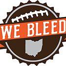 We Bleed Ohio Football by WeBleedOhio