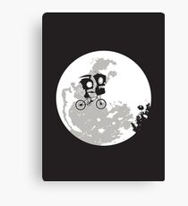 Dib and the E.T Canvas Print