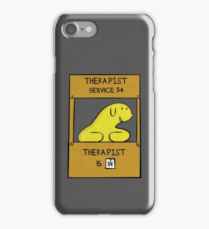 Hand Bananas Therapist Service iPhone Case/Skin