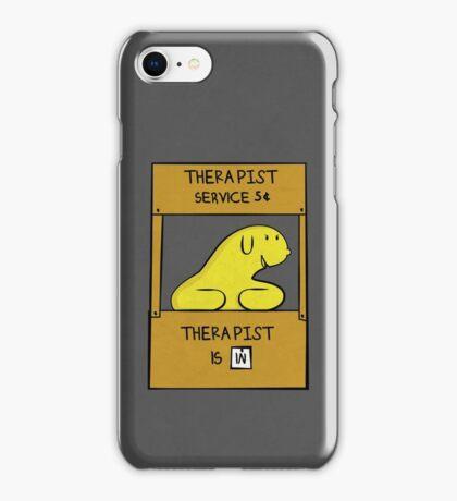 Hand Bananas Therapist Service iPhone Case/Skin