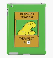 Hand Bananas Therapist Service iPad Case/Skin