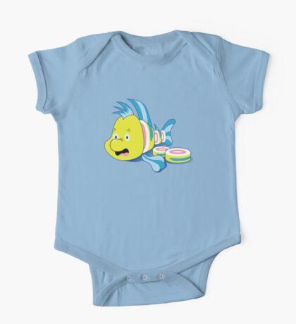 Flounder Sushi Kids Clothes