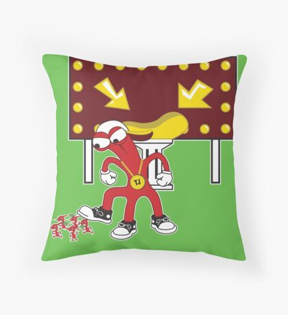 My Ship Piece!! Throw Pillow