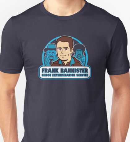 Frightener Ghost Extermination Service T-Shirt