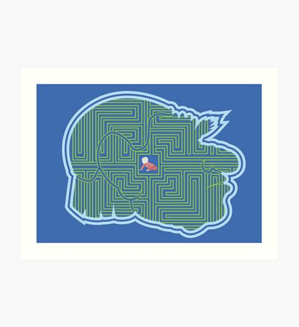 Hoggle's Labyrinth Art Print