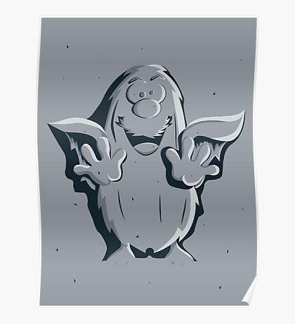 Captain Caveman Frozen So-lid Poster