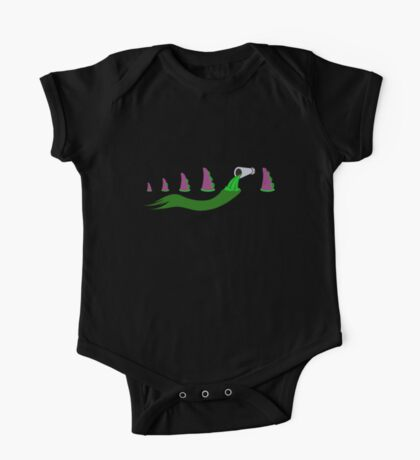 Evolution of Purple Tentacle Green Ooze Kids Clothes