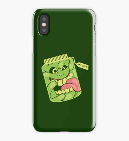 Slimer in a Jar iPhone Case