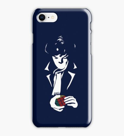 Nothing left unsolved (White) iPhone Case/Skin