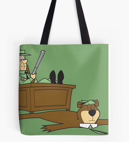 Yogi Bear rug Tote Bag