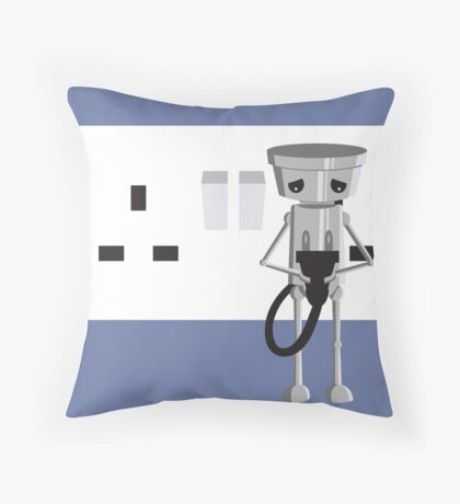 Imported Chibi Robo  Throw Pillow