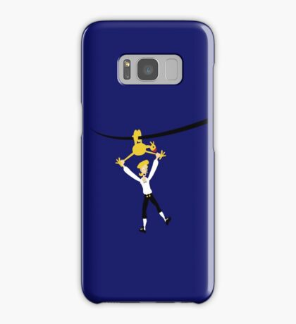 Rubber chicken with a pulley in the middle Samsung Galaxy Case/Skin