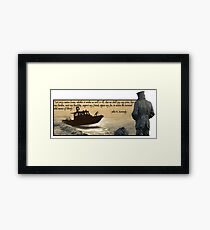 Lone Sailor (v2) Framed Print
