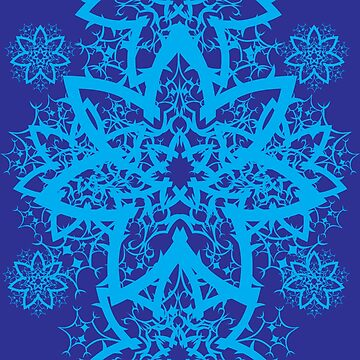 Winter Snowflake by zerojigoku