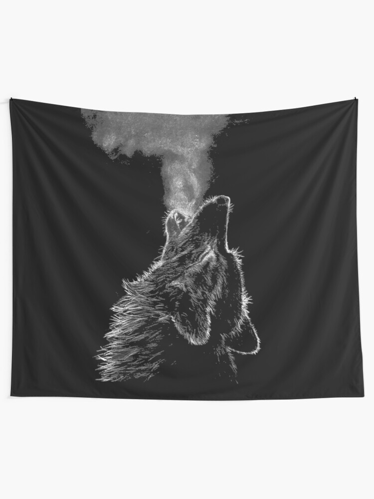 Alternate view of Wolf Tapestry