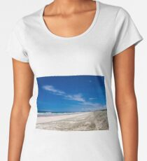 Castaways Beach Queensland Australia Women's Premium T-Shirt