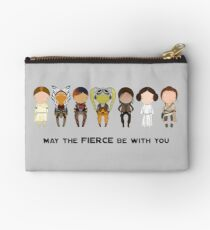 May the Fierce  Studio Pouch