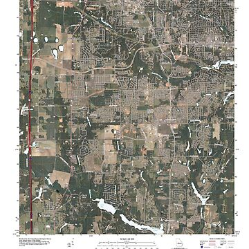 USGS TOPO Map Georgia GA Warner Robins SW 20110309 TM by wetdryvac
