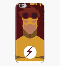 Young Justice: Minimalist Kid Flash Poster iPhone Case