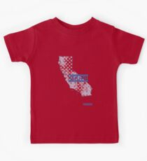 California State - There's No Place Like Home (Blue Version) Kids Clothes