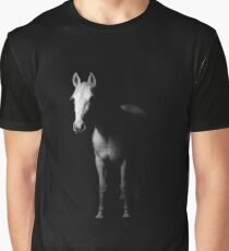 White Horse in the Dark Graphic T-Shirt