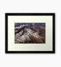 Mountain Peaks for Dreaming Framed Print