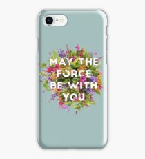Floral Force iPhone Case/Skin