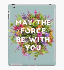 Floral Force iPad Case/Skin