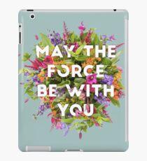 Florale Kraft iPad-Hülle & Klebefolie