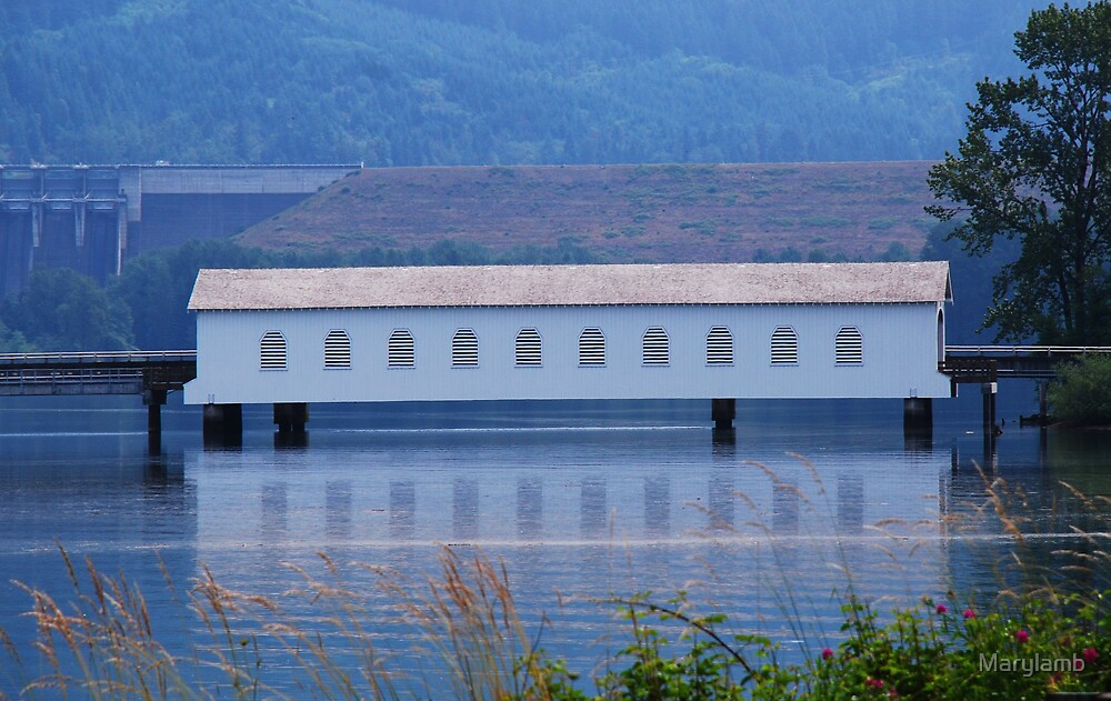 Lowell Covered Bridge by Marylamb