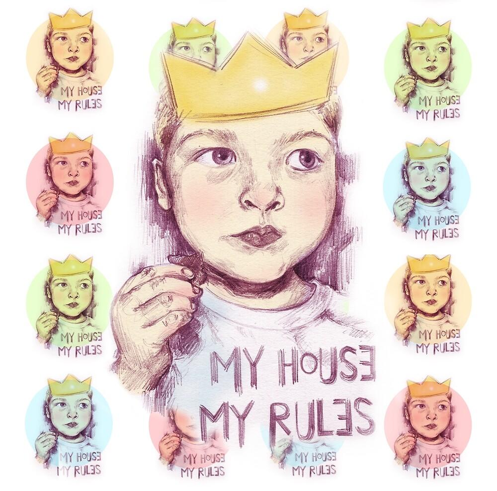 My house, my rules by vanesaizquierdo