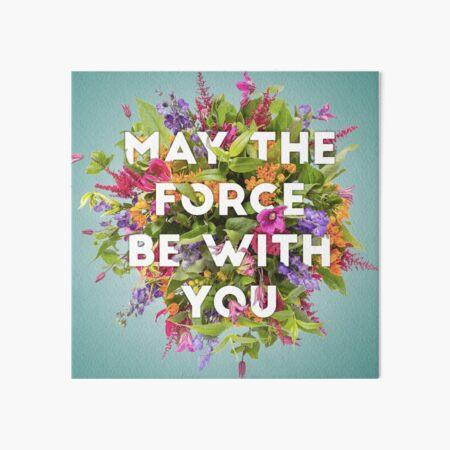 Floral Force Art Board Print