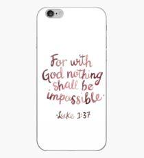 Bibel Vers iPhone-Hülle & Cover