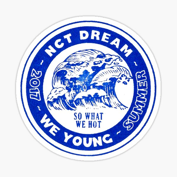 NCT DREAM We Young 02 Pegatina