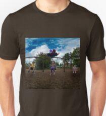 3  Kids on a Swing Unisex T-Shirt