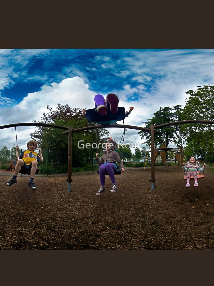 3  Kids on a Swing by VeryIreland