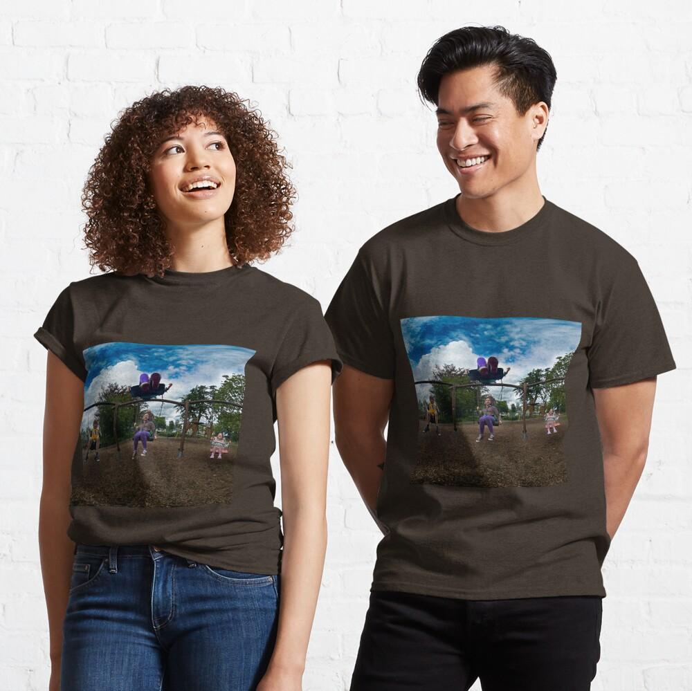 3  Kids on a Swing Classic T-Shirt