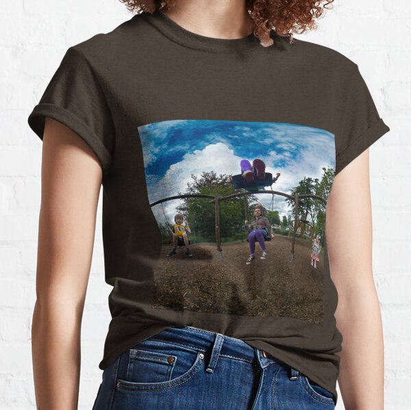 3  Kids on a Swing Classic T-Shirt