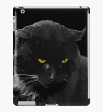 Baghera is the black cats' king iPad Case/Skin