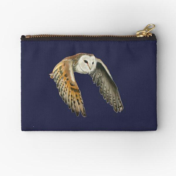 Barn Owl Zipper Pouch