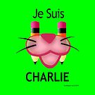 Pink Panther: Je Suis Charlie by EyeMagined