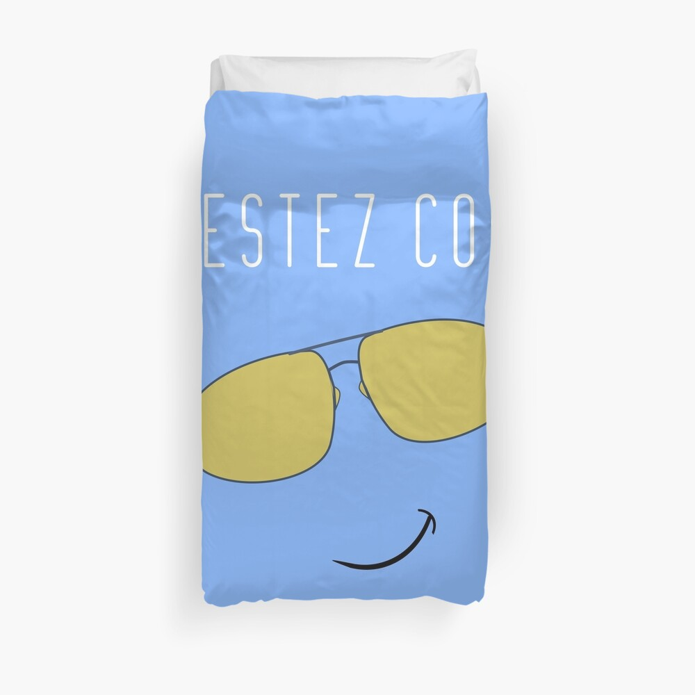 Restez Cool - French for Stay Cool Duvet Cover