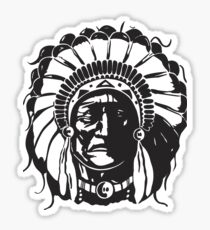 American Native Chef Tribe Sticker