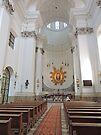 Jesuit Church, Warsaw by Graeme  Hyde