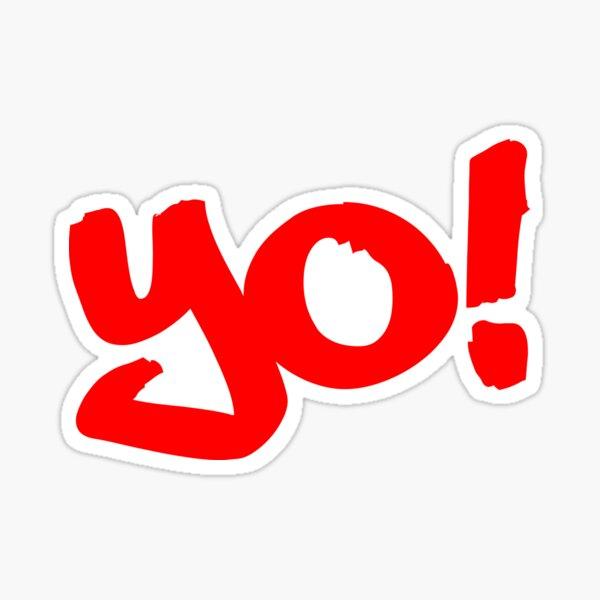 Yo! - Philly Greeting Sticker