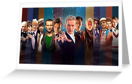 Dr. Who - Doctors by Black Cat