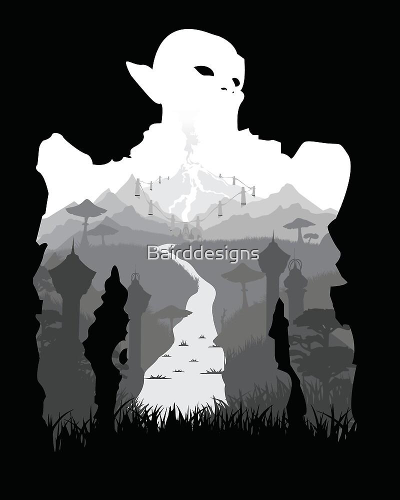 Elder Scrolls - Morrowind by Bairddesigns