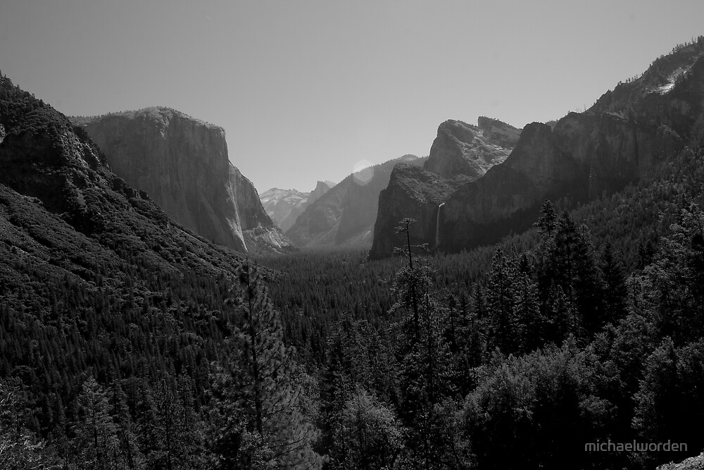 A tribute to Ansel Adams by michaelworden