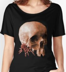 SPIDER AND SKULL Women's Relaxed Fit T-Shirt